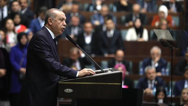 Erdogan asegura que Turquía no acata sanciones antiraníes de EEUU