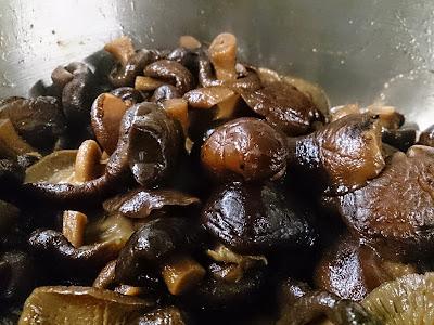 原木椎茸の甘煮