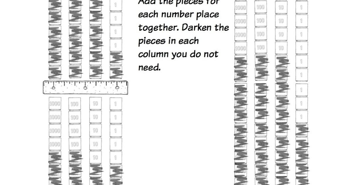 DIY Educational Materials: Montessori Math Homework