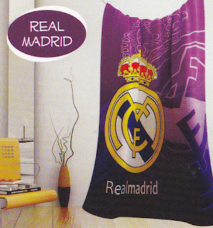 Selimut Kintakun Flannel Real Madrid