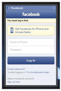 Www Facebook Login Home Page