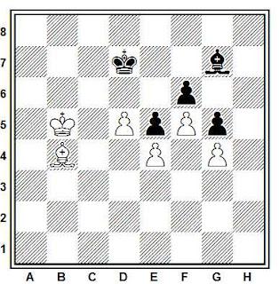 Posición de la partida de ajedrez Jagst - Liebau (Hannover, 1988)