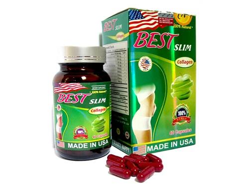 Viên giảm cân Best Slim Collagen USA giảm cân an toàn