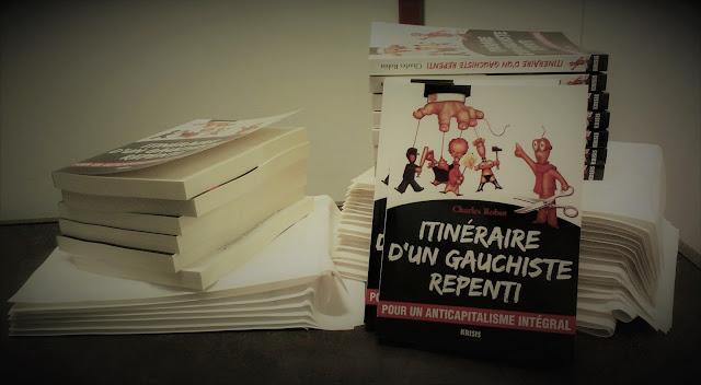 Itinéraire d'un gauchiste repenti, éditions Krisis, en vente sur Krisis Diffusion