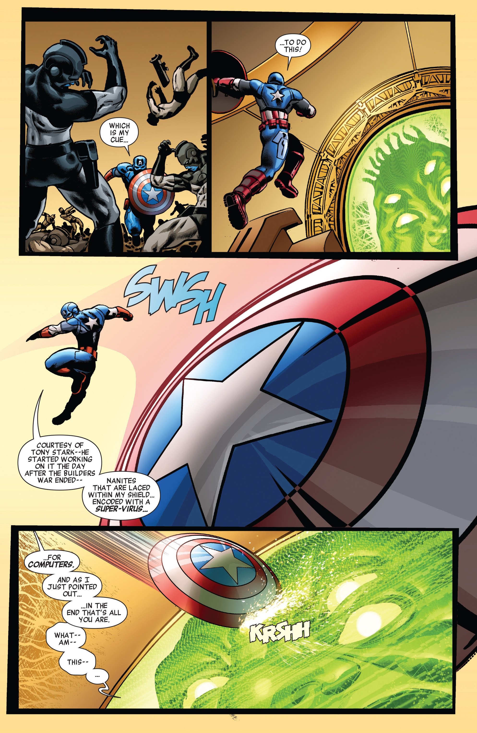Read online All-New Invaders comic -  Issue #5 - 13