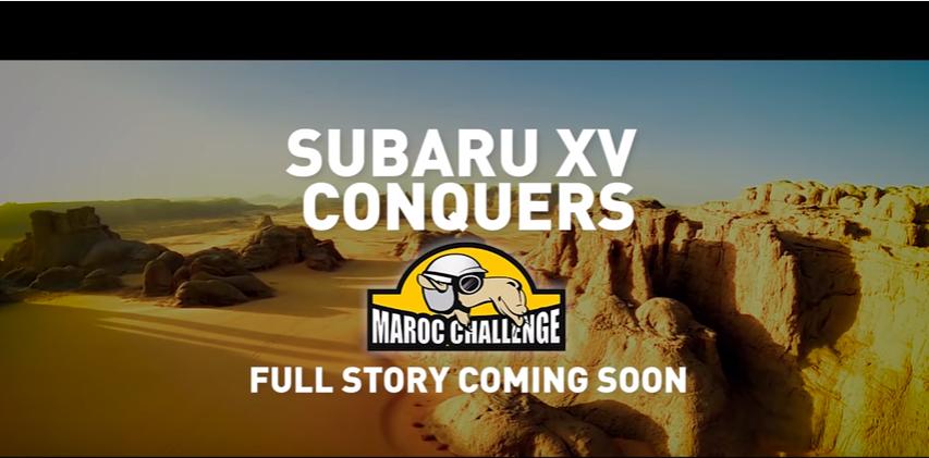 Canzone Pubblicità Subaru XV Maroc Challenge Luglio 2016
