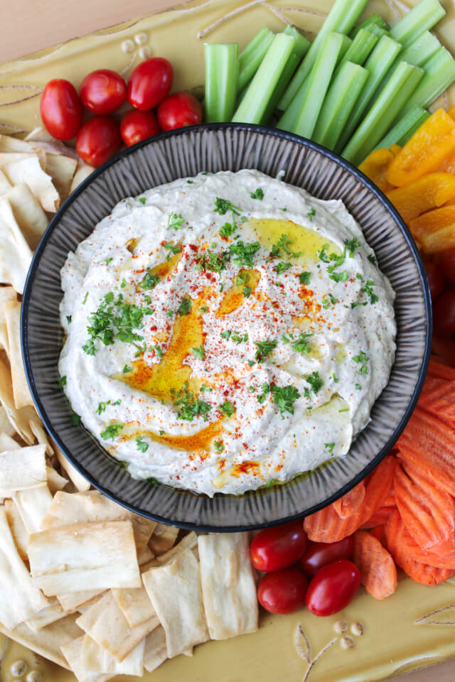 Roasted Eggplant Dip | The Two Bite Club