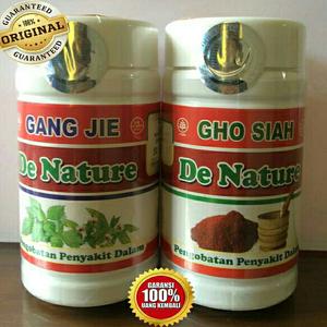 Obat Kencing Nanah Gang Jie Gho Siah De Nature