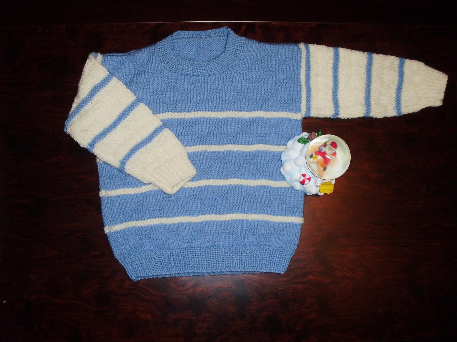 56b071bfd6e Victoria - Handmade Creations : Πλεκτό παιδικό πουλόβερ για αγόρια ...