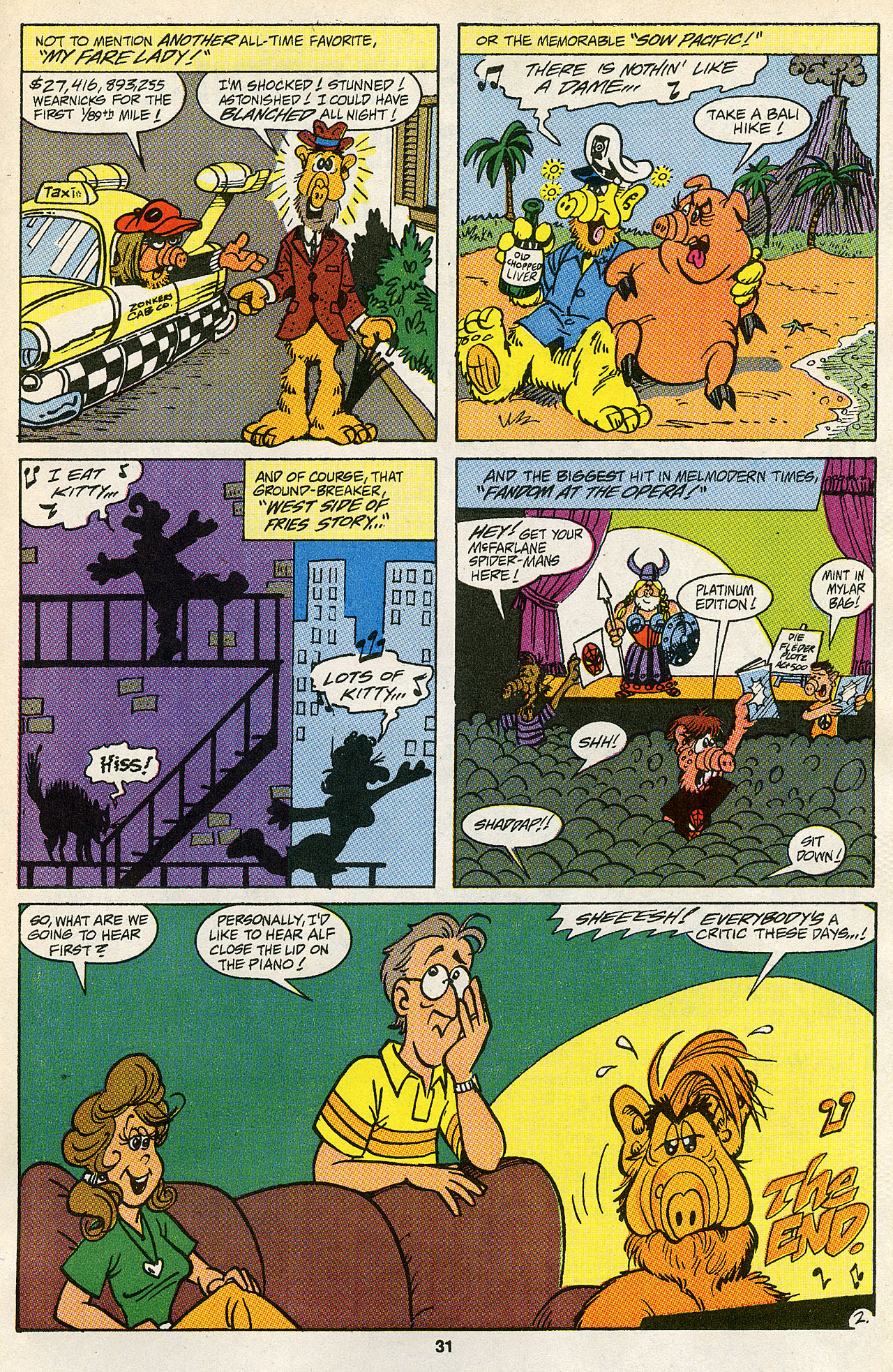 Read online ALF comic -  Issue #43 - 32