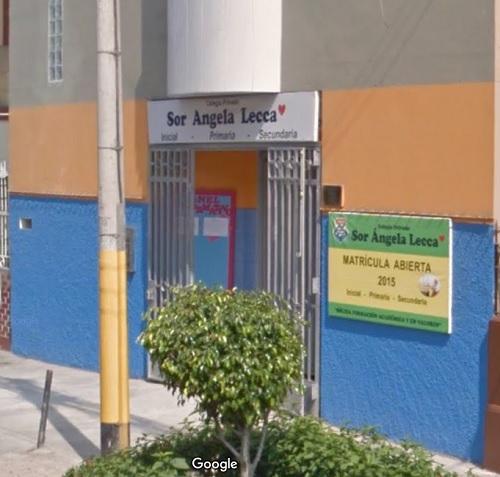 Escuela SOR ANGELA LECCA - Breña