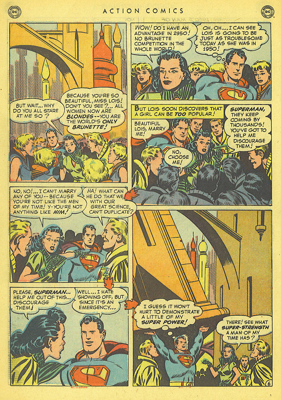 Read online Action Comics (1938) comic -  Issue #152 - 8