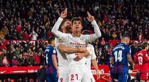 اشبيلية يحقق الفوز على ليفانتي بثلاثية ويتاهل لثمن نهائي كأس ملك إسبانيا