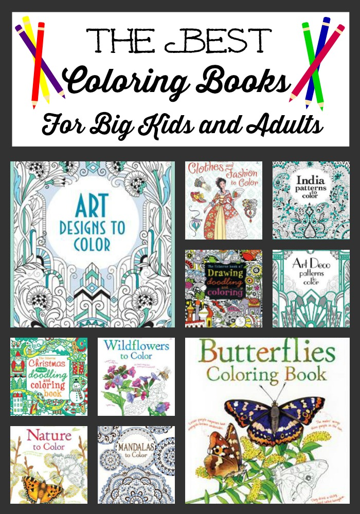 the best coloring books for big kids and adults - Best Coloring Books For Adults