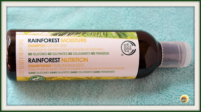 THE BODY SHOP RAINFOREST MOISTURE SHAMPOO REVIEW ON NBAM