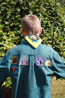 Son-Scout-tree-garden