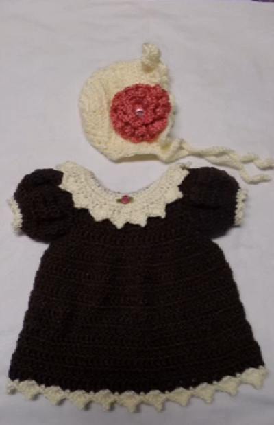 Learn How To Make Crochet Patterns : Learn to make crochet dress with pattern - Crochet Baby