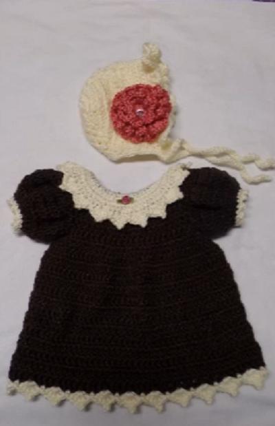 Learn to make crochet dress with pattern - Crochet Baby
