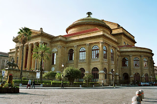 The Teatro Massimo in Palermo became a symbol of the city's fight back against the Mafia