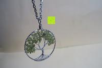 Erfahrungsbericht: JOVIVI Edelstein Chakra-Anhänger Baum des Lebens Anhänger Pandent mit 56cm Kette,Lebensbaum Halskette für Damen Herren
