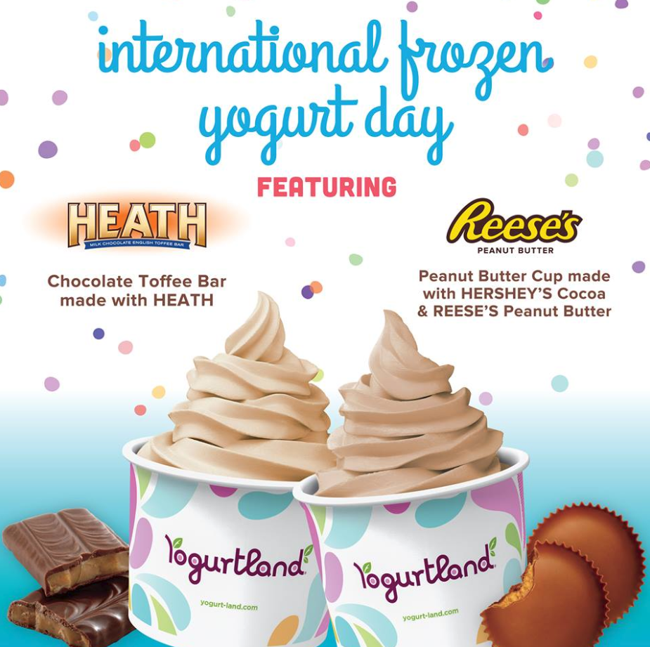 Feb 6 | Celebrate  Internat'l FroYo Day with BOGO Free Deals @ Yogurtland