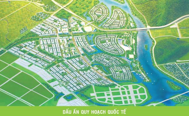Phối cảnh quy hoạch Golden Hills