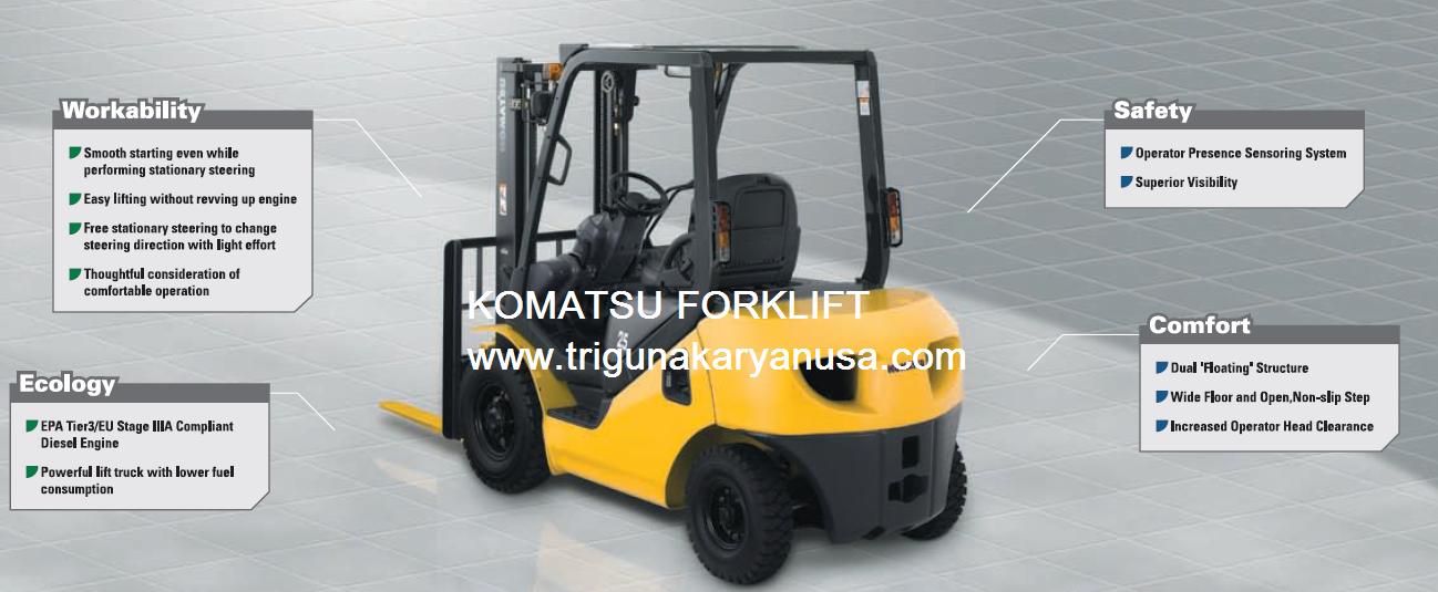 sales service komatsu forklift pt triguna karya nusa rh jcbbackhoeloader blogspot com komatsu 25 forklift specifications komatsu 25 forklift operator's manual