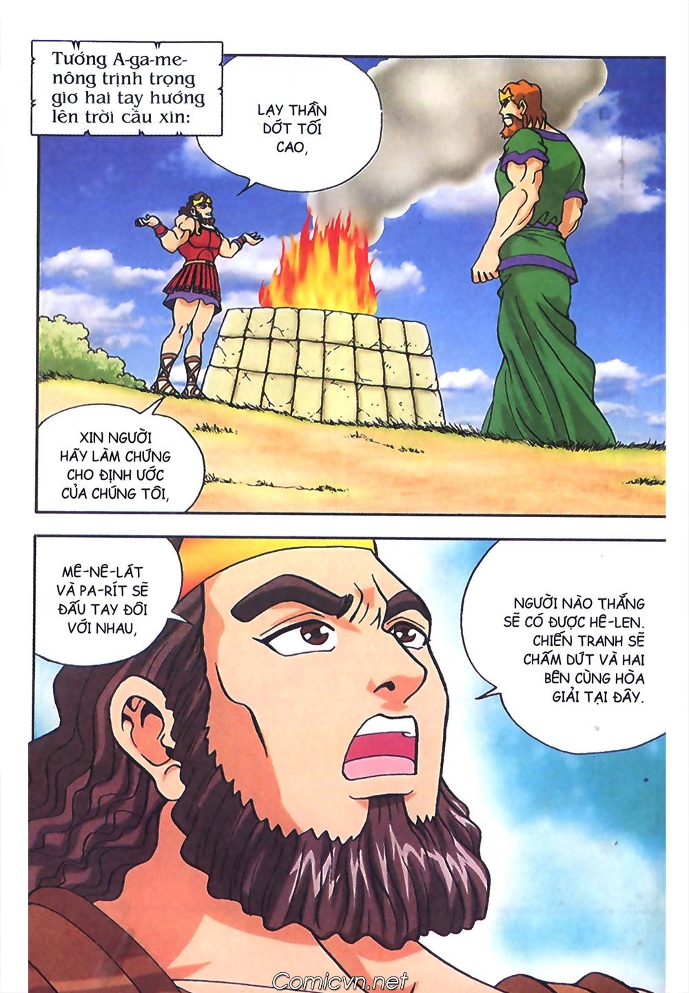 Thần Thoại Hy Lạp Màu - Chapter 57: Cuộc chiến định mệnh - Pic 29