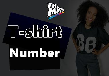 Camiseta Baby Look Feminina e Masculina T-Shirt Número