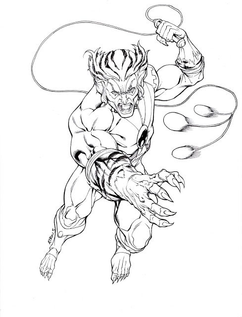 ThunderCats Tygra Coloring Page - Free Printable Coloring Pages for Kids