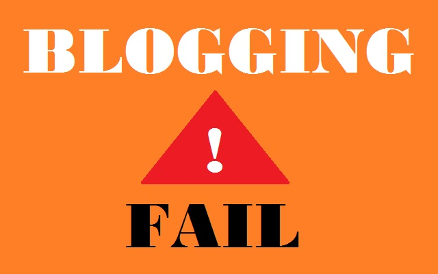 The Cause of Blogging Will Not be Successful