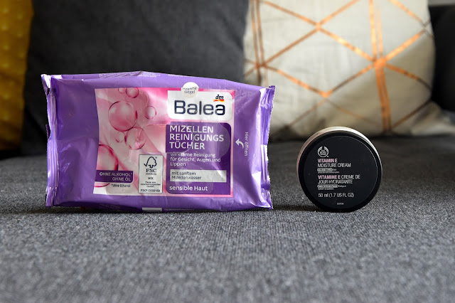 Empties von Balea & The Body Shop