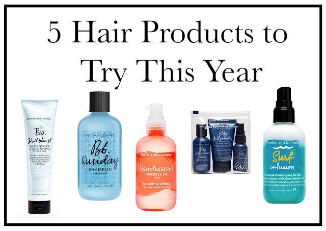 5 Bumble & Bumble Hair Products to Try This Year