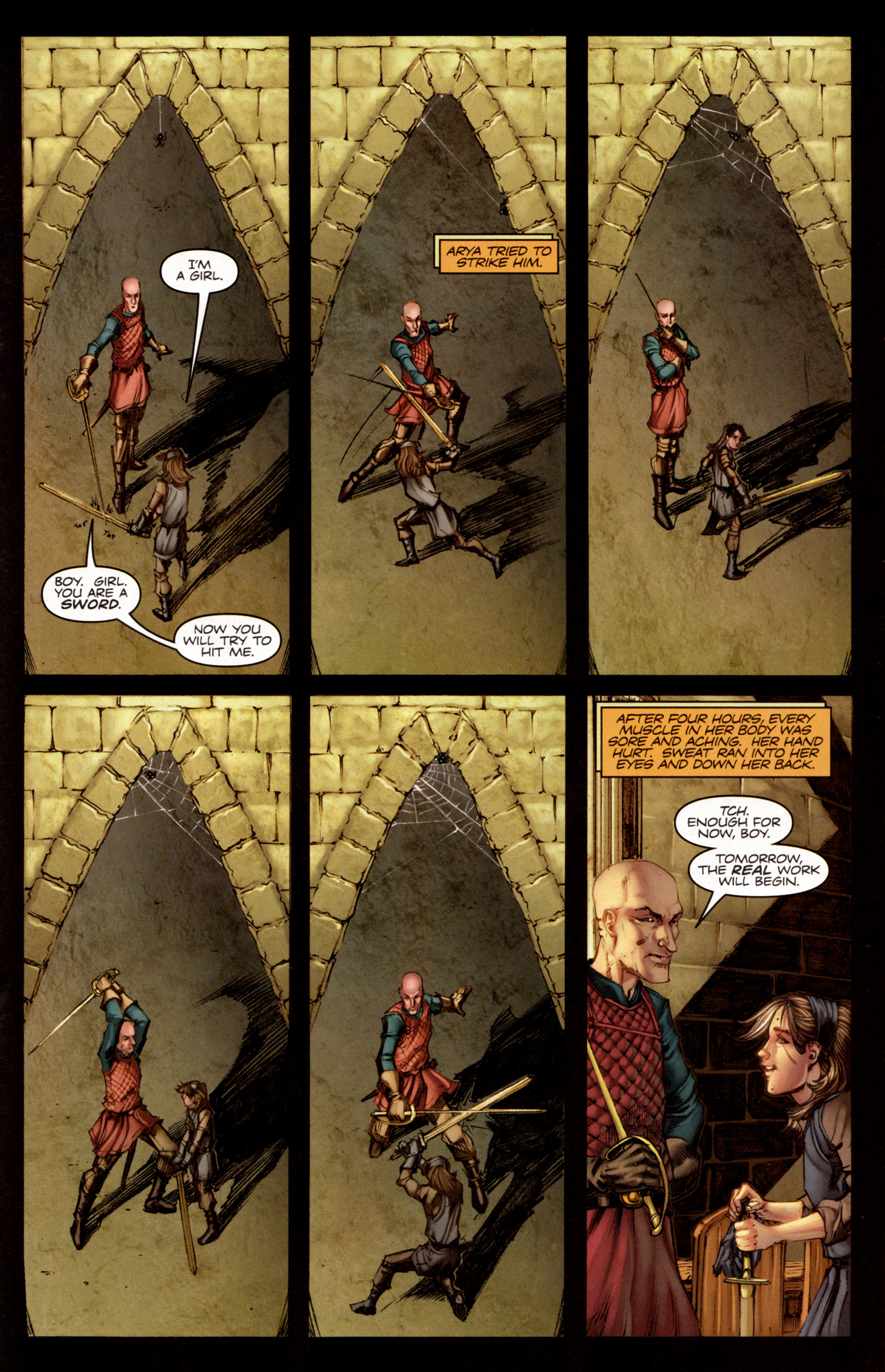 Read online A Game Of Thrones comic -  Issue #7 - 20