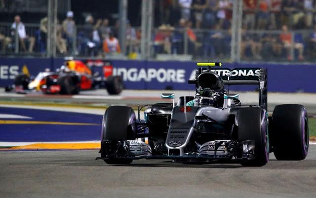 Fórmula 1 com o GP de Cingapura nesse fim de semana 16-09-3017