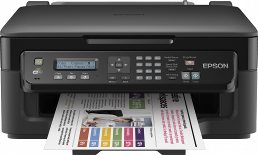 pilote epson wf 2510 windows 10