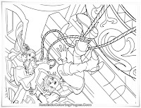 Barbie And The Three Musketeers Coloring Pages For Kids Printable