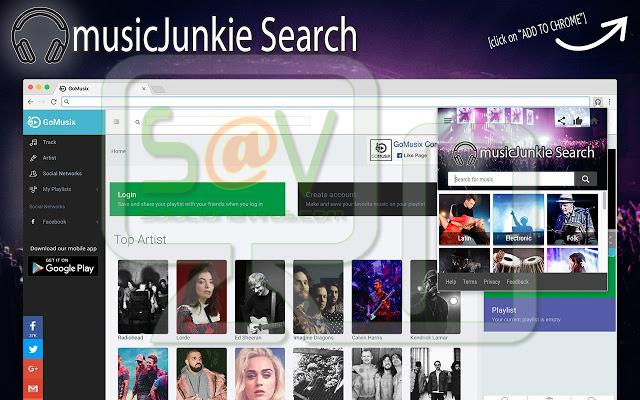 MusicJunkie Search (Extensión)