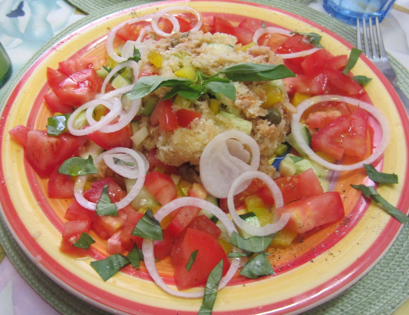 Frugal fitness frugal healthy recipe video panzanella frugal healthy recipe video panzanella forumfinder Image collections