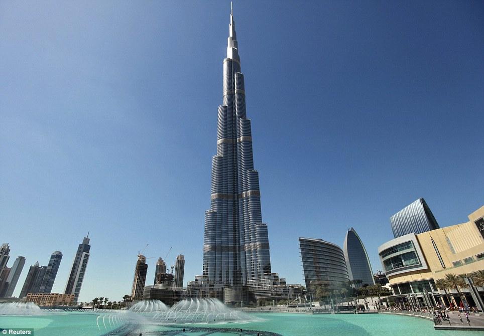 myacadaxtra: Inside The World's Tallest Building: The Burj