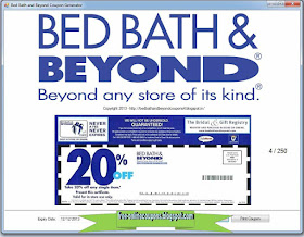 Can You Redeem Bed Bath And Beyond Coupons Online