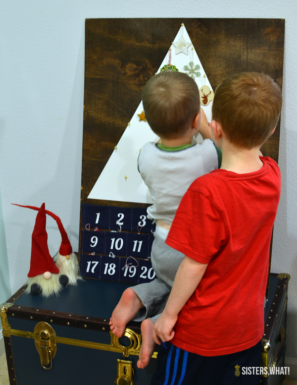make an advent calendar for kids