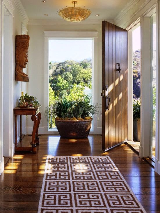 Simple Details: diy stenciled rug