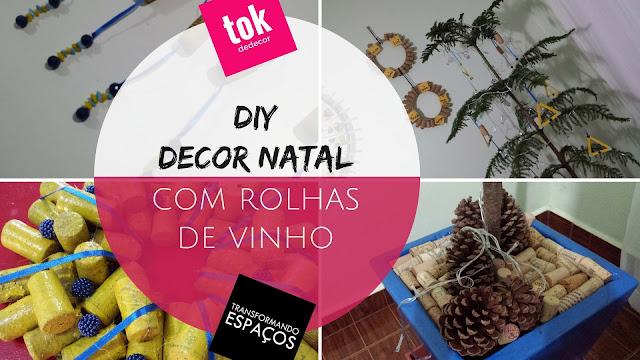 DIY Decor | 3 ideias para decoração de Natal com Rolhas de Vinho