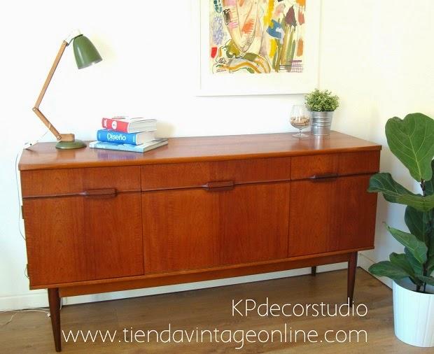 Aparadores vintage en valencia. muebles daneses