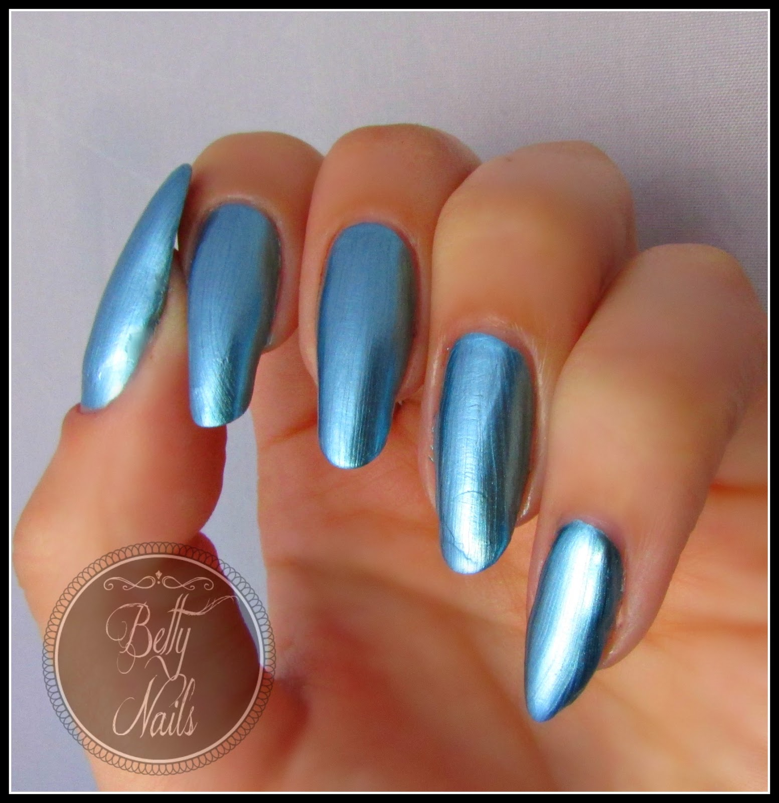 Well-known Betty Nails: Mollon Pro Mirror Lacquer * Swatches & Review LL97