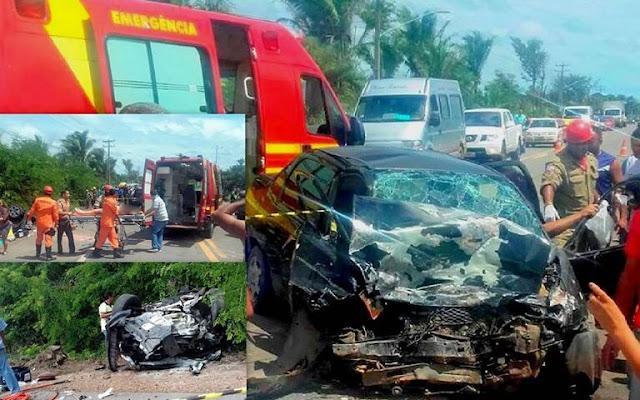 Vítimas de colisão na BR-222 em Itapecuru-Mirim morrem durante transferência para São Luís