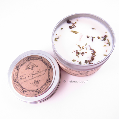 wax apothecary peppermint - the beauty puff