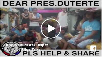 OFW in Saudi Arabia ask help from President Duterte