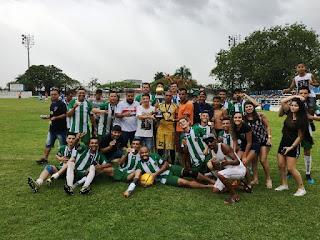 Jaguaré é a equipe Campeã da 3ª Divisão de Futebol Amador de Registro-SP